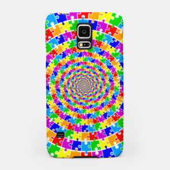 Colored Jigsaw Piece Samsung Case thumbnail image