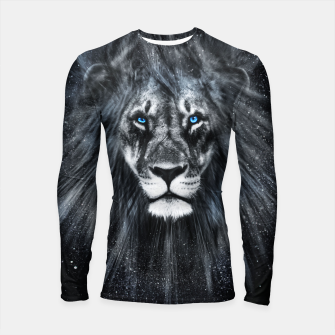 Thumbnail image of The Dark Lion Longsleeve rashguard, Live Heroes