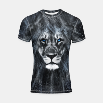 Miniatur The Dark Lion Shortsleeve rashguard, Live Heroes