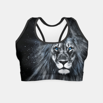 Thumbnail image of The Dark Lion Crop Top, Live Heroes