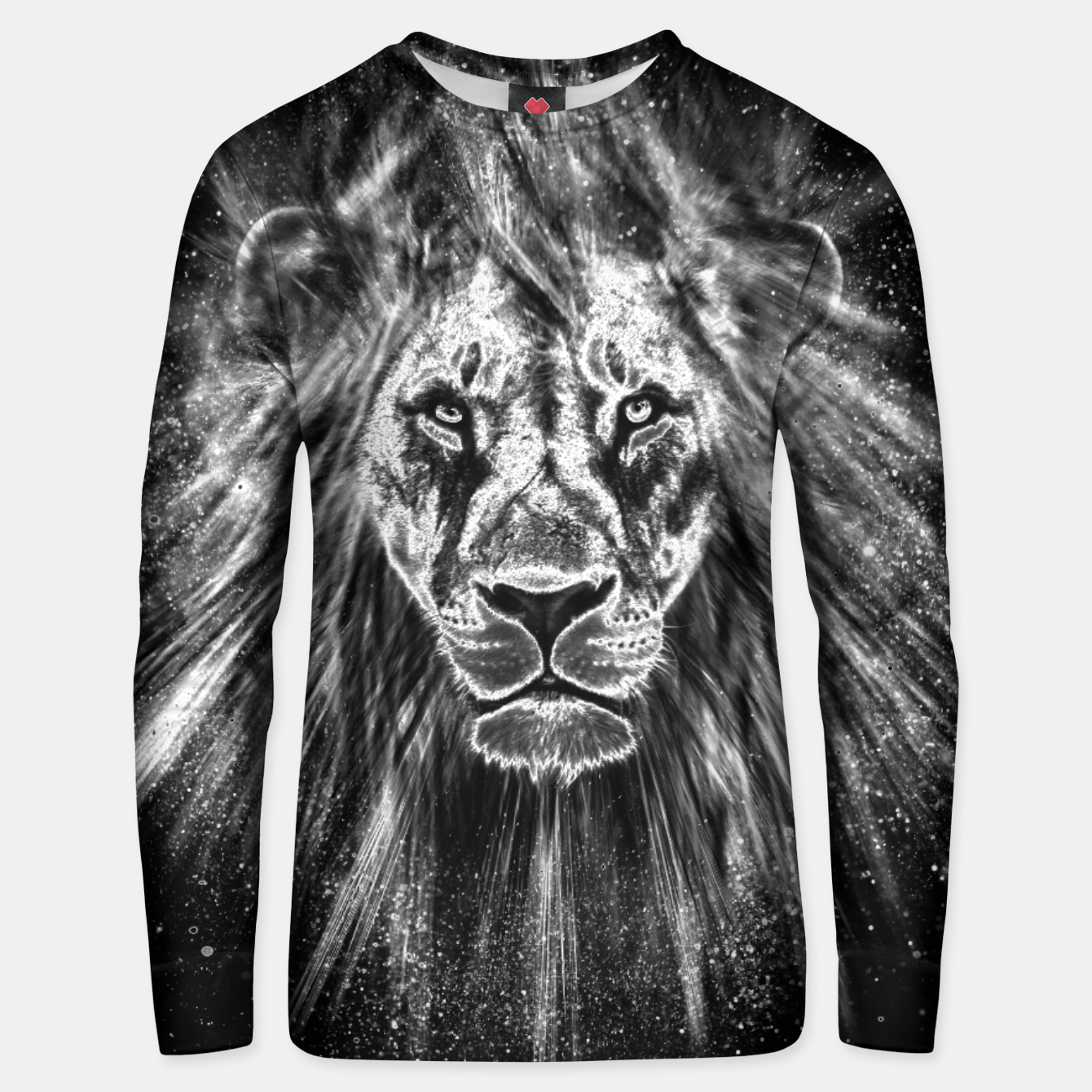 Image of Silver Lion Unisex sweatshirt - Live Heroes