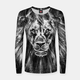 Thumbnail image of Silver Lion Frauen sweatshirt, Live Heroes