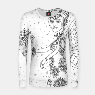 Thumbnail image of Women Sweater Fairy of motherhood , Live Heroes