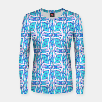 Thumbnail image of Geometric Doodle 1 Women sweater, Live Heroes
