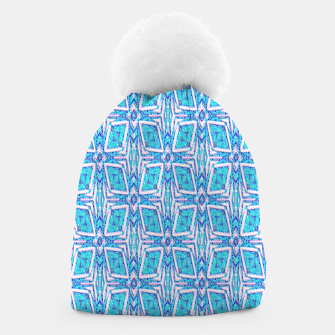 Thumbnail image of Geometric Doodle 1 Beanie, Live Heroes