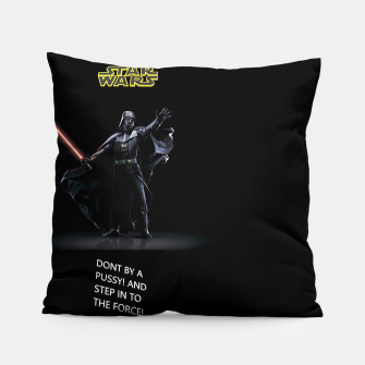 Thumbnail image of STAR WARS DON'T BY Pillow, Live Heroes