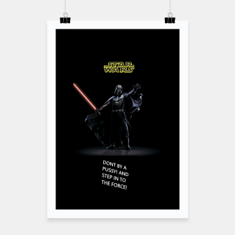 Thumbnail image of STAR WARS DON'T BY Poster, Live Heroes