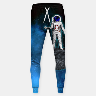 Thumbnail image of Cosmic Hitchhiker Astronaut Illustration Hosen, Live Heroes