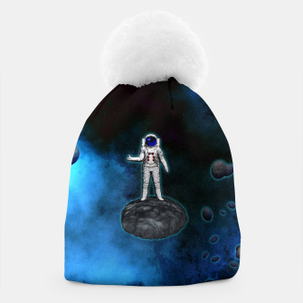 Thumbnail image of Cosmic Hitchhiker Astronaut Illustration Mütze, Live Heroes