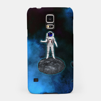Thumbnail image of Cosmic Hitchhiker Astronaut Illustration Handyhülle für Samsung, Live Heroes