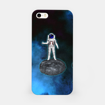 Thumbnail image of Cosmic Hitchhiker Astronaut Illustration iPhone-Hülle, Live Heroes