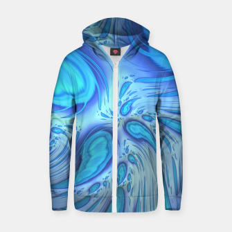 Thumbnail image of Weirdo Zip up hoodie, Live Heroes