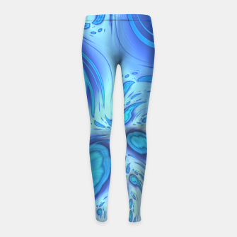 Thumbnail image of Weirdo Girl's leggings, Live Heroes