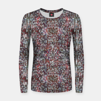 Miniatur Animal Texture Women sweater, Live Heroes