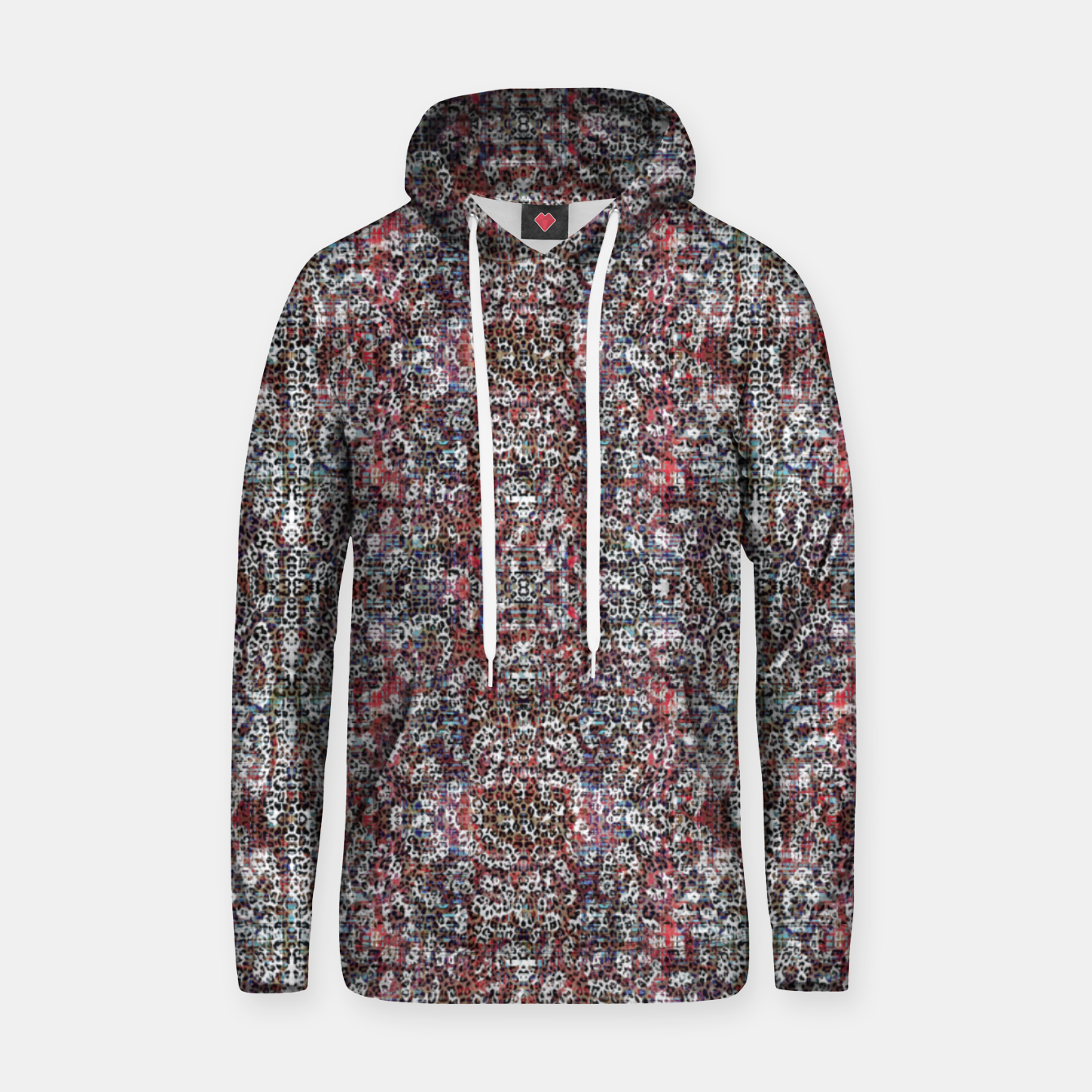Image of Animal Texture Hoodie - Live Heroes