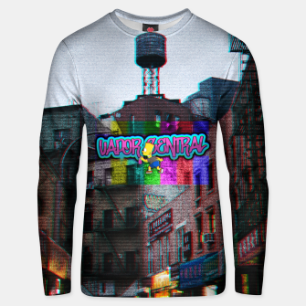Thumbnail image of vapor central bart Unisex sweater, Live Heroes