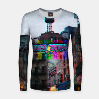 Miniaturka vapor central bart Women sweater, Live Heroes