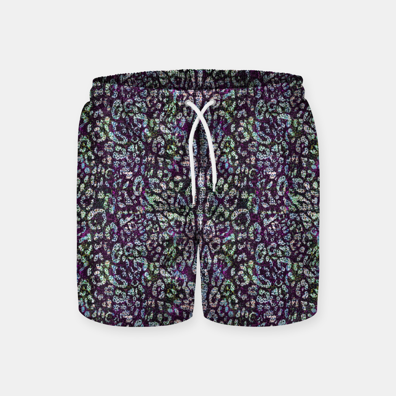 Image of Animal Texture Swim Shorts - Live Heroes