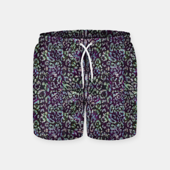 Miniatur Animal Texture Swim Shorts, Live Heroes