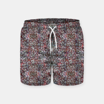 Animal Texture Swim Shorts Bild der Miniatur