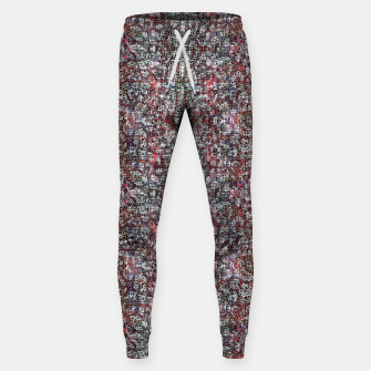 Animal Texture Sweatpants Bild der Miniatur