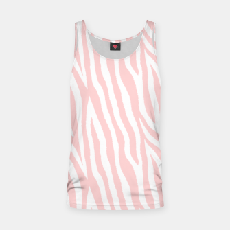 Thumbnail image of Pale pink zebra fur pattern 04 Tank Top, Live Heroes