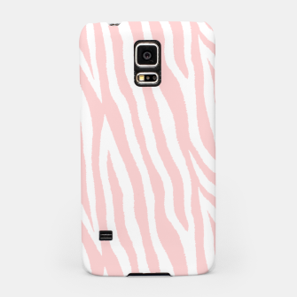 Thumbnail image of Pale pink zebra fur pattern 04 Samsung Case, Live Heroes