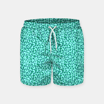 Animal mix - crocodile/snake skin 01 Swim Shorts Bild der Miniatur