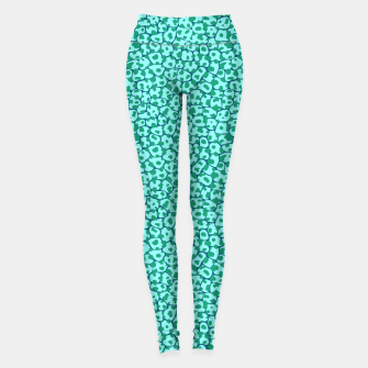 Animal mix - crocodile/snake skin 01 Leggings Bild der Miniatur