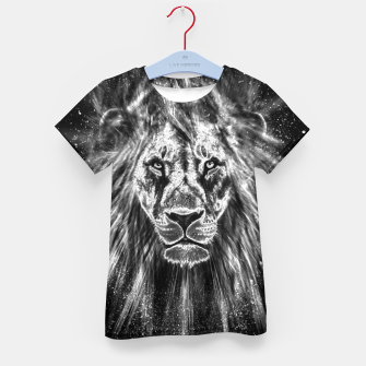 Thumbnail image of Silver Lion T-Shirt für kinder, Live Heroes