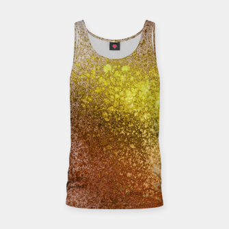 Thumbnail image of Yellow Amber Spray Paint Art Tank Top, Live Heroes