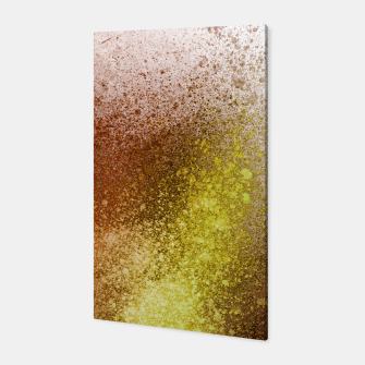 Thumbnail image of Yellow Amber Spray Paint Art Canvas, Live Heroes