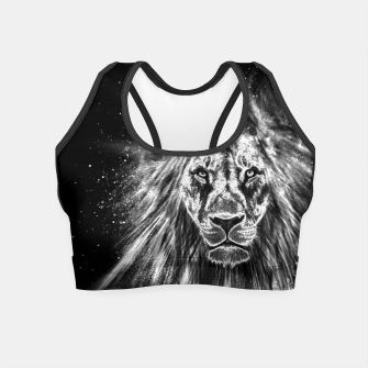 Thumbnail image of Silver Lion Crop Top, Live Heroes