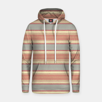Miniaturka orange gray stripes Hoodie, Live Heroes