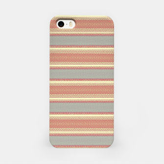 Miniaturka orange gray stripes iPhone Case, Live Heroes