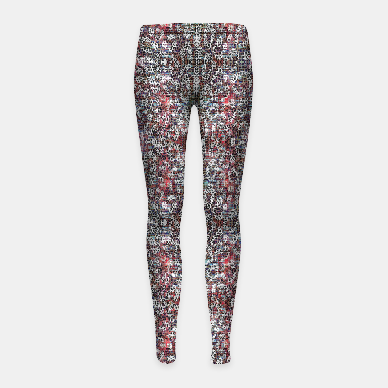 Image of Animal Texture Girl's leggings - Live Heroes
