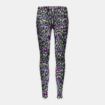 Animal Texture Girl's leggings miniature