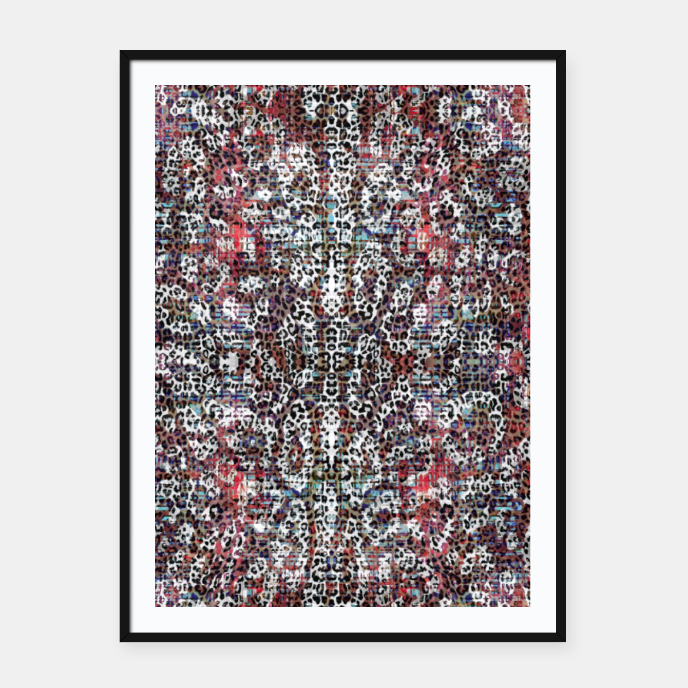 Image of Animal Texture Framed poster - Live Heroes