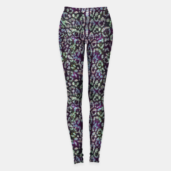 Animal Texture Leggings Bild der Miniatur