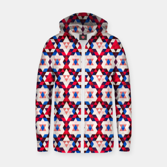 Thumbnail image of  Moroccan Pattern – Zip up hoodie, Live Heroes