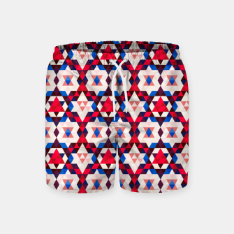 Thumbnail image of  Moroccan Pattern – Swim Shorts, Live Heroes