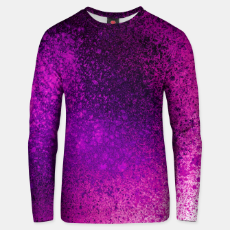 Thumbnail image of Hot Pink Fuchsia Spray Paint Art Unisex sweater, Live Heroes