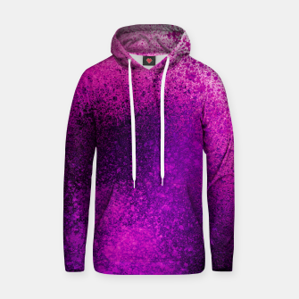 Thumbnail image of Hot Pink Fuchsia Spray Paint Art Hoodie, Live Heroes