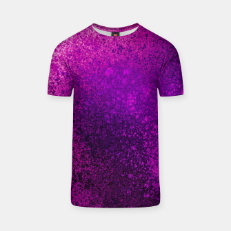 Thumbnail image of Hot Pink Fuchsia Spray Paint Art T-shirt, Live Heroes