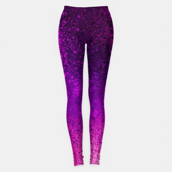 Thumbnail image of Hot Pink Fuchsia Spray Paint Art Leggings, Live Heroes