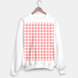 Thumbnail image of Heart Pattern on Coral Sweater regular, Live Heroes