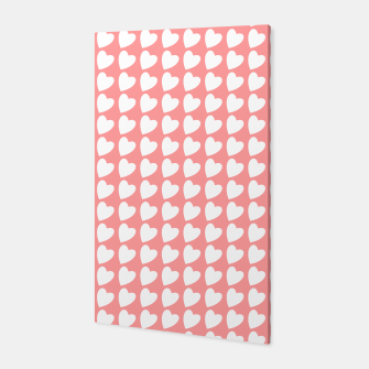 Thumbnail image of Heart Pattern on Coral Canvas, Live Heroes