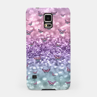 Thumbnail image of Pastel Unicorn Butterfly Glitter Dream #3 #shiny #decor #art Handyhülle für Samsung, Live Heroes