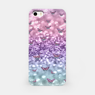 Thumbnail image of Pastel Unicorn Butterfly Glitter Dream #3 #shiny #decor #art iPhone-Hülle, Live Heroes