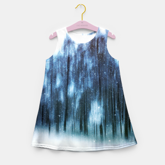 Miniatur Melody in blue Girl's summer dress, Live Heroes